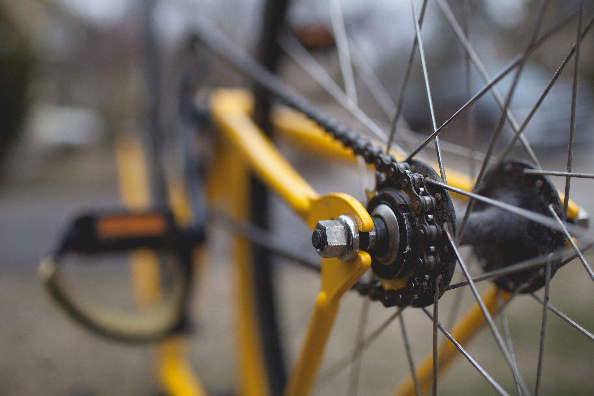 Background image bike spokes